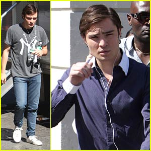 Ed Westwick is Chinatown Crazy