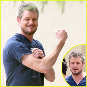 Eric Dane Has Bulging Biceps
