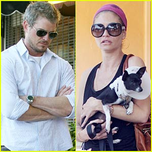 Eric Dane Adopts An Injured Puppy