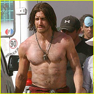 Jake Gyllenhaal is the Shirtless Prince of Persia