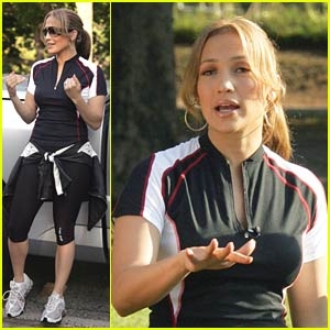Jennifer Lopez's Triathlon Training