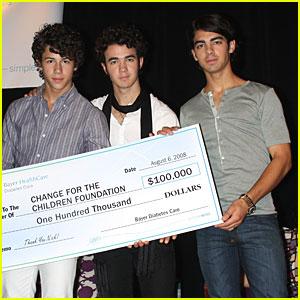 The Jonas Brothers are Bayer Boys