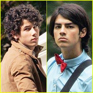 Jonas Brothers Shoot Central Park