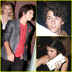 The Jonas Brothers Double Date