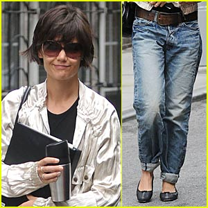 Katie Holmes: Pegged Jeans Pretty?