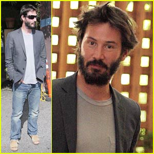 Keanu Reeves Loves Lunch