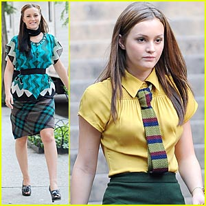 Leighton Meester is Ivy League Luscious