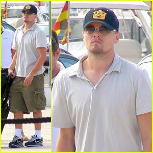 Leonardo DiCaprio's Mystery Blonde
