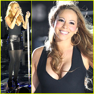 Mariah Carey Performs in Hollywood Heaven