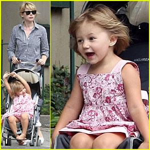 Matilda Ledger Gets Stroller Spunky