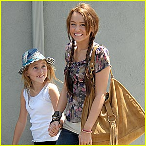 Miley Cyrus is Pigtails Pretty