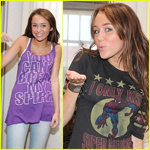 Miley Cyrus' Shopping Spree