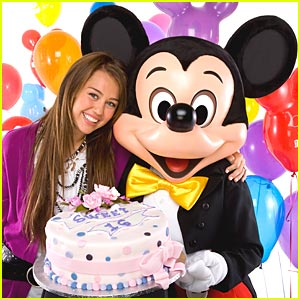 Sweet 16 Celebration For Miley Cyrus