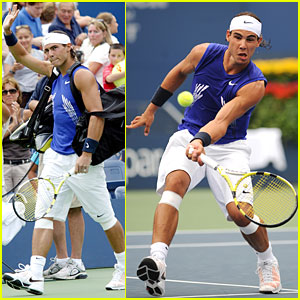Rafael Nadal Takes On U.S. Open