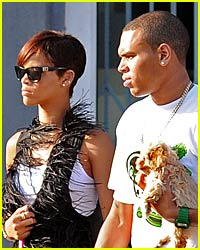 Rihanna and Chris Brown Are Newly Departed