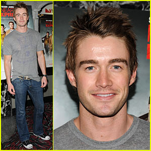 Robert Buckley Rides The Pineapple Express