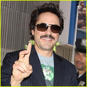 Robert Downey Jr. is an Iron Mustache Man
