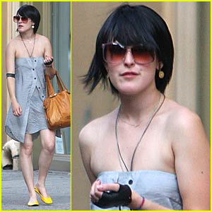 Rumer Willis Shops SoHo
