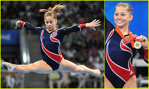 Shawn Johnson is Gold Glorious