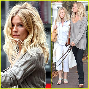 Sienna Miller Enjoys Mommy-Daughter Bonding
