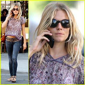 Sienna Miller is Back in Beverly Hills
