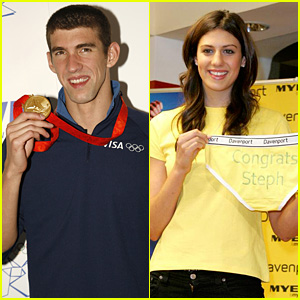 Stephanie Rice Denies Dating Michael Phelps