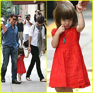 Suri Cruise's Personality: Large And In Charge!