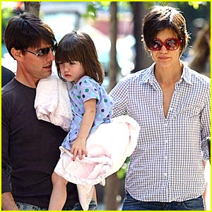 Suri Cruise is Polka Dot Pretty