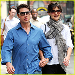 Katie Holmes: Tom Cruise Is My Escort!