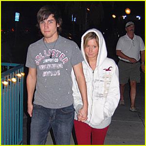 Ashley Tisdale & Jared Murillo Do Dinner