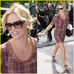 Charlize Theron is a Bruno Babe