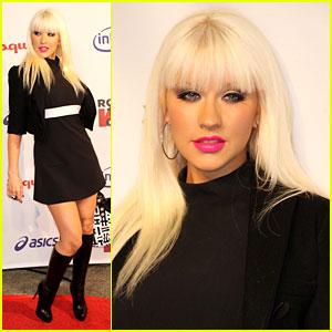 Christina Aguilera: Rock the Vote!
