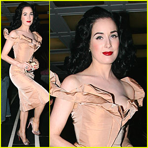 Dita Von Teese Heads to the Wild Westwood
