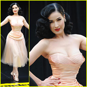 Dita Von Teese Launches Her Wonderbra