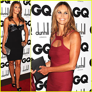 Elizabeth Hurley Busts Out for GQ
