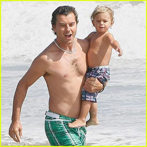 Gavin Rossdale Goes Green