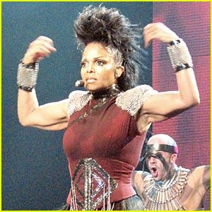 Janet Jackson Rocks With You