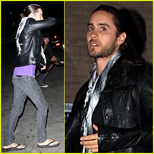 Jared Leto Busts Out Bolthouse