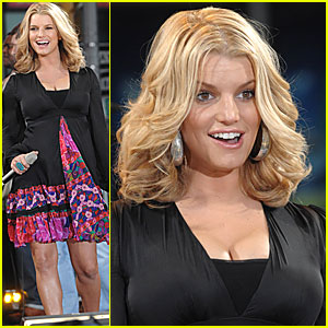 Jessica Simpson: Good Morning America!