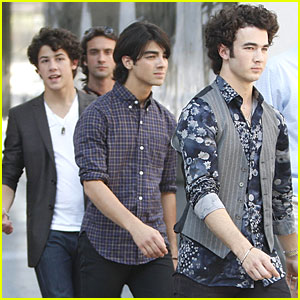 The Jonas Brothers Go 3D in NYC