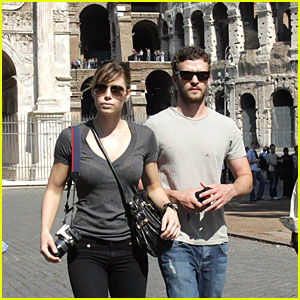 Justin and Jessica Take a Roman Holiday