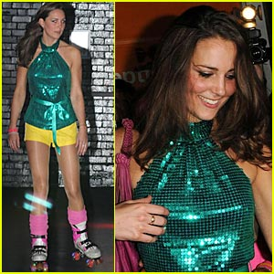 Kate Middleton Dazzles At Roller Disco