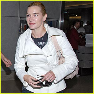 Kate Winslet Has A Fear Of Flying
