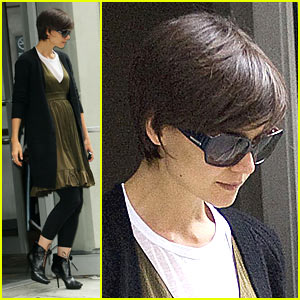 Katie Holmes: All My Rehearsals