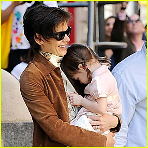 Suri Cruise is Pigtails Perfect