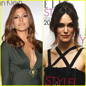 Keira Knightley's Last Night With Eva Mendes