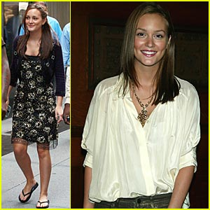 Leighton Meester is a Kid For Kids