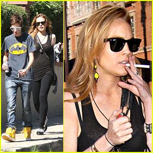 Lindsay Lohan: Thank You For Smoking