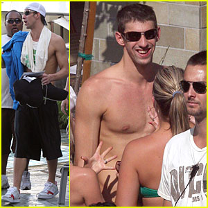 Michael Phelps is Swimming in Girls