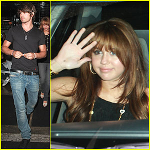 Miley & Justin Have Date Night!